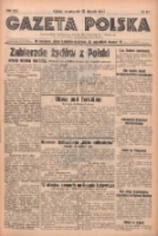 Gazeta Polska: codzienne pismo polsko-katolickie dla wszystkich stanów 1938.01.27 R.42 Nr21