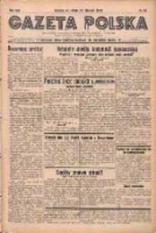 Gazeta Polska: codzienne pismo polsko-katolickie dla wszystkich stanów 1938.01.29 R.42 Nr23
