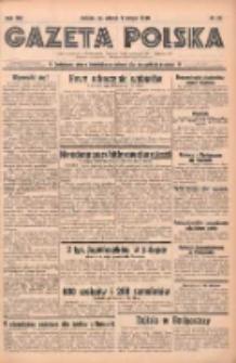Gazeta Polska: codzienne pismo polsko-katolickie dla wszystkich stanów 1938.02.01 R.42 Nr25