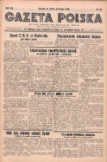 Gazeta Polska: codzienne pismo polsko-katolickie dla wszystkich stanów 1938.02.05 R.42 Nr28