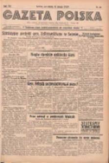 Gazeta Polska: codzienne pismo polsko-katolickie dla wszystkich stanów 1938.02.12 R.42 Nr34
