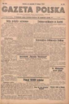 Gazeta Polska: codzienne pismo polsko-katolickie dla wszystkich stanów 1938.02.17 R.42 Nr38