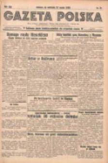 Gazeta Polska: codzienne pismo polsko-katolickie dla wszystkich stanów 1938.03.27 R.42 Nr71