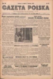 Gazeta Polska: codzienne pismo polsko-katolickie dla wszystkich stanów 1938.04.05 R.42 Nr78