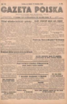 Gazeta Polska: codzienne pismo polsko-katolickie dla wszystkich stanów 1938.04.16 R.42 Nr89