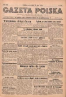 Gazeta Polska: codzienne pismo polsko-katolickie dla wszystkich stanów 1938.05.19 R.42 Nr115