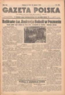 Gazeta Polska: codzienne pismo polsko-katolickie dla wszystkich stanów 1938.06.15 R.42 Nr136
