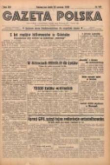 Gazeta Polska: codzienne pismo polsko-katolickie dla wszystkich stanów 1938.06.22 R.42 Nr141