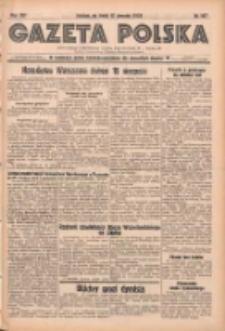 Gazeta Polska: codzienne pismo polsko-katolickie dla wszystkich stanów 1938.08.17 R.42 Nr187