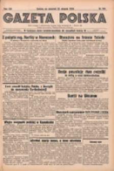 Gazeta Polska: codzienne pismo polsko-katolickie dla wszystkich stanów 1938.08.25 R.42 Nr194