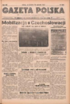 Gazeta Polska: codzienne pismo polsko-katolickie dla wszystkich stanów 1938.09.25 R.42 Nr222