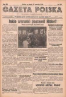 Gazeta Polska: codzienne pismo polsko-katolickie dla wszystkich stanów 1938.09.27 R.42 Nr223