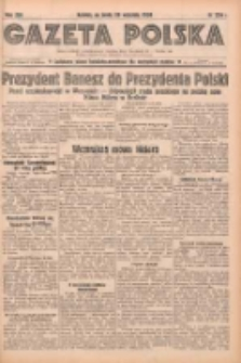 Gazeta Polska: codzienne pismo polsko-katolickie dla wszystkich stanów 1938.09.28 R.42 Nr224