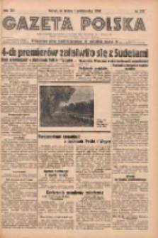 Gazeta Polska: codzienne pismo polsko-katolickie dla wszystkich stanów 1938.10.01 R.42 Nr227