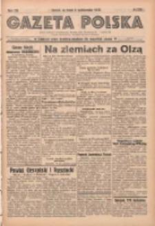 Gazeta Polska: codzienne pismo polsko-katolickie dla wszystkich stanów 1938.10.05 R.42 Nr230
