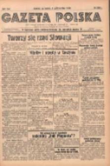 Gazeta Polska: codzienne pismo polsko-katolickie dla wszystkich stanów 1938.10.08 R.42 Nr233