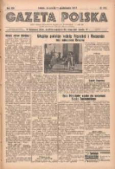 Gazeta Polska: codzienne pismo polsko-katolickie dla wszystkich stanów 1938.10.11 R.42 Nr235