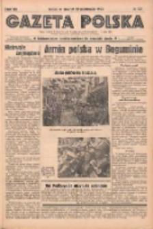 Gazeta Polska: codzienne pismo polsko-katolickie dla wszystkich stanów 1938.10.13 R.42 Nr237