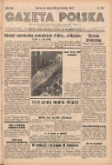 Gazeta Polska: codzienne pismo polsko-katolickie dla wszystkich stanów 1938.10.22 R.42 Nr246