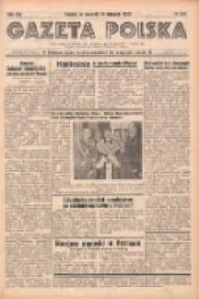 Gazeta Polska: codzienne pismo polsko-katolickie dla wszystkich stanów 1938.11.10 R.42 Nr261