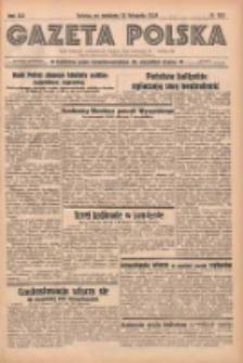 Gazeta Polska: codzienne pismo polsko-katolickie dla wszystkich stanów 1938.11.13 R.42 Nr263