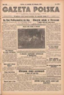 Gazeta Polska: codzienne pismo polsko-katolickie dla wszystkich stanów 1938.11.20 R.42 Nr269