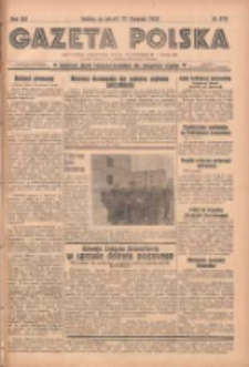 Gazeta Polska: codzienne pismo polsko-katolickie dla wszystkich stanów 1938.11.22 R.42 Nr270