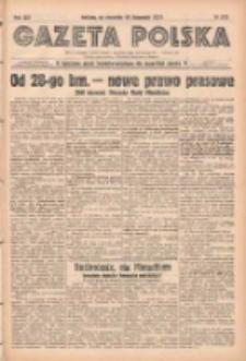Gazeta Polska: codzienne pismo polsko-katolickie dla wszystkich stanów 1938.11.24 R.42 Nr272