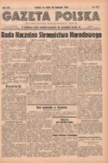 Gazeta Polska: codzienne pismo polsko-katolickie dla wszystkich stanów 1938.11.30 R.42 Nr277