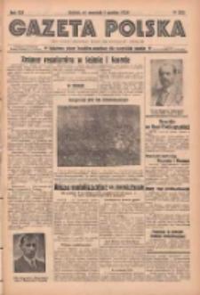 Gazeta Polska: codzienne pismo polsko-katolickie dla wszystkich stanów 1938.12.01 R.42 Nr278