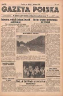 Gazeta Polska: codzienne pismo polsko-katolickie dla wszystkich stanów 1938.12.02 R.42 Nr279