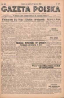 Gazeta Polska: codzienne pismo polsko-katolickie dla wszystkich stanów 1938.12.17 R.42 Nr291