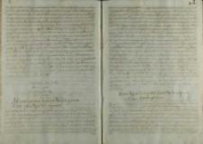 Odpowiedz na poselstwo Joachima Fryderyka margrabiego brandenburskiego, 1603