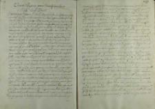 List Jana Zamoyskiego do papieża Klemensa VIII, Zamość 14.01.1605