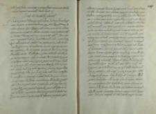 List króla Zygmunta III do sułtana Mehmeda III, obóz nad rzeką Gawią 16.10.1601