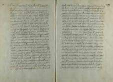 Instrukcja Krzysztofa Kochanowskiego posła do sułtana Mehmeta III, 1601