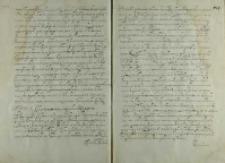 List do kardynała protektora, ok.1593