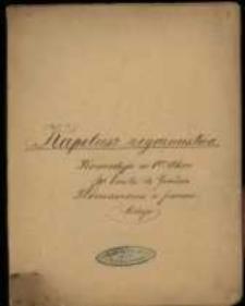 Mme Emile de Gorardin: Kapelusz zegarmistrza. Komedyja w 1-ym akcie. Tłómaczona z francuzkiego