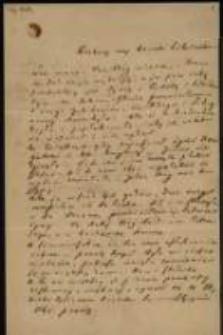List Józefa Ignacego Kraszewskiego do [J. Andrzeja?] Wysztelewskiego