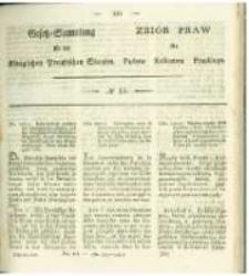Gesetz-Sammlung für die Königlichen Preussischen Staaten. 1829 No14