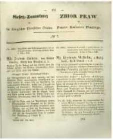 Gesetz-Sammlung für die Königlichen Preussischen Staaten. 1846 No7