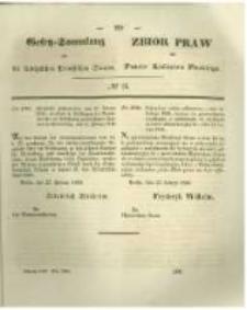 Gesetz-Sammlung für die Königlichen Preussischen Staaten. 1846 No14
