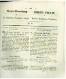 Gesetz-Sammlung für die Königlichen Preussischen Staaten. 1846 No40