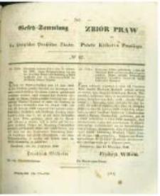 Gesetz-Sammlung für die Königlichen Preussischen Staaten. 1846 No42
