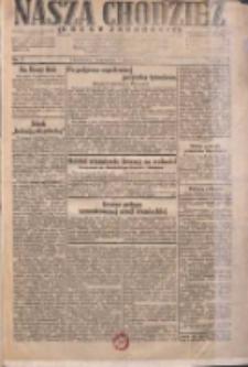 Nasza Chodzież: dziennik poświęcony obronie interesów narodowych na zachodnich ziemiach Polski 1931.01.01 R.9(2) Nr1
