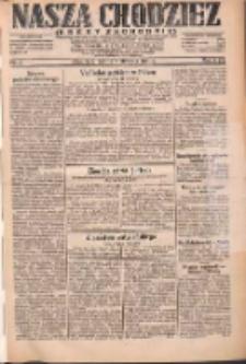 Nasza Chodzież: dziennik poświęcony obronie interesów narodowych na zachodnich ziemiach Polski 1931.01.03 R.9(2) Nr2