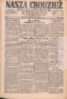 Nasza Chodzież: dziennik poświęcony obronie interesów narodowych na zachodnich ziemiach Polski 1931.01.08 R.9(2) Nr5
