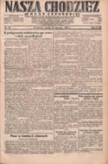 Nasza Chodzież: dziennik poświęcony obronie interesów narodowych na zachodnich ziemiach Polski 1931.01.14 R.9(2) Nr10