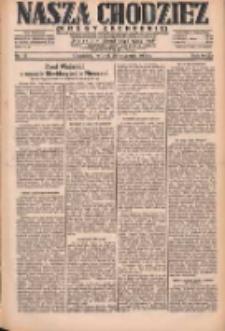Nasza Chodzież: dziennik poświęcony obronie interesów narodowych na zachodnich ziemiach Polski 1931.01.20 R.9(2) Nr15