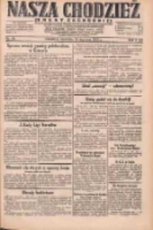 Nasza Chodzież: dziennik poświęcony obronie interesów narodowych na zachodnich ziemiach Polski 1931.01.25 R.9(2) Nr20